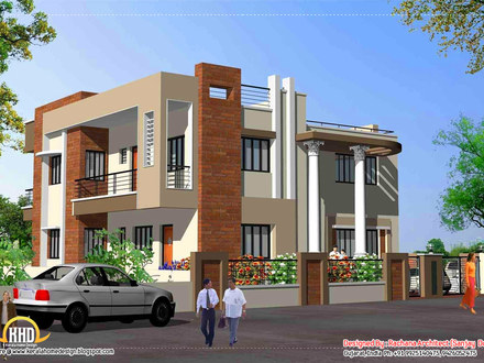 Home Elevation Design India India Elevations Ground Floor Home with Car Parking