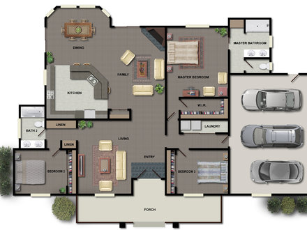 House Floor Plan Design Modern House Plans