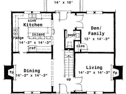 Old colonial floor plans colonial house floor plans for Classic colonial home floor plans
