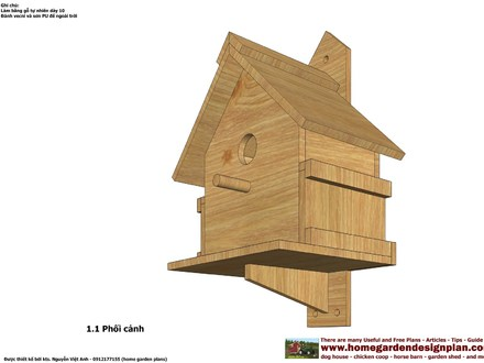 Finch Bird House Plans Bird House Plans Free Download