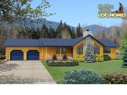 Ranch Log Homes Floor Plans Complete Log Home Package Pricing