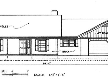 Simple Ranch House Floor Plans Simple Farm House
