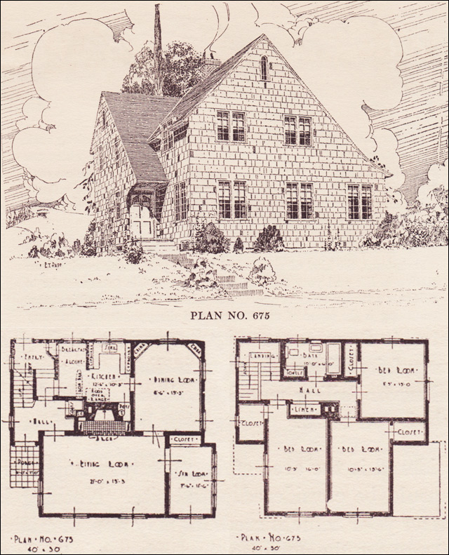 Pictures Of English Cottages From The 1920 S With Attached