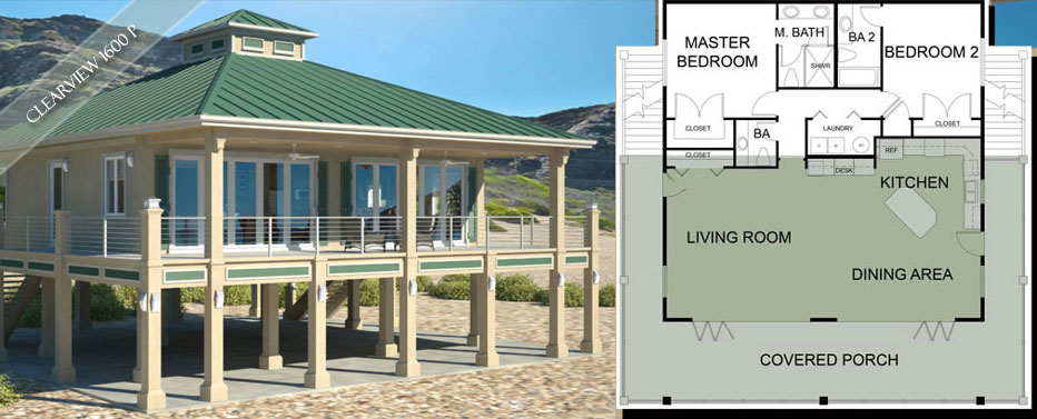 beach cottage house plans beach house plans on pilings