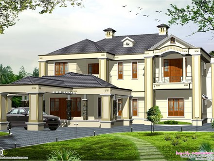 Cottage Style House Designs Colonial Style House Design