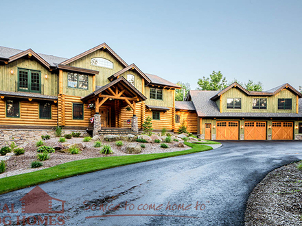 Design luxury house floor plans luxury custom home design for Custom luxury log homes