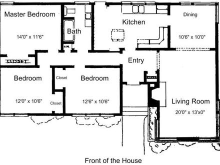 3 Bedroom House Plans Free 3-Bedroom Ranch House Plans
