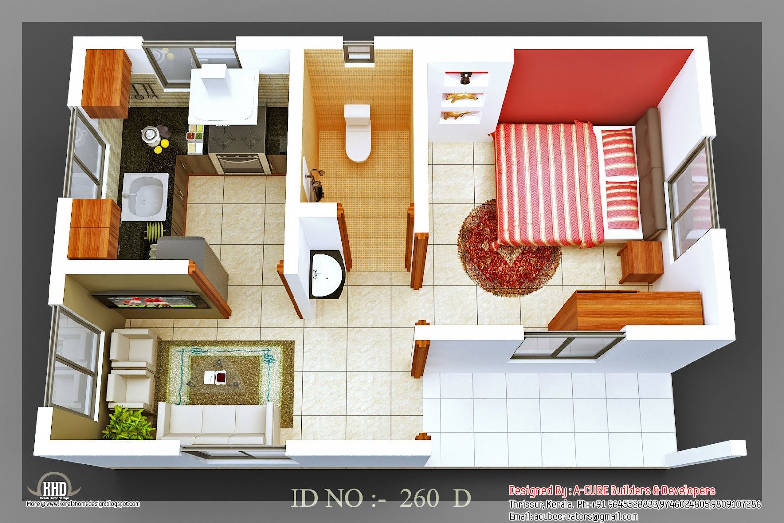 3D Small House Design Small Modern House Designs