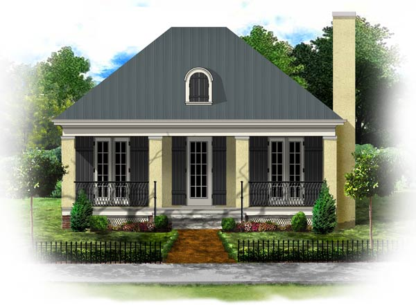 Dutch Colonial House French Colonial Homes House Plans