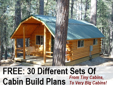 Hunting Cabin Plans Free DIY Cabin Plans