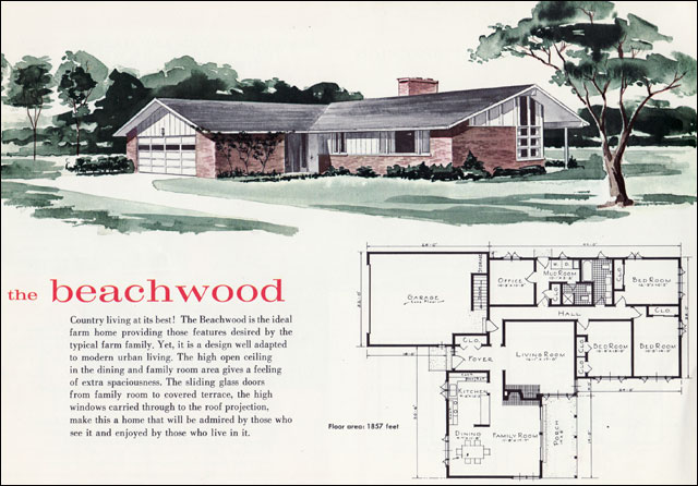 Mid Century Modern Ranch Exteriors Mid Century Modern Ranch Style Home Plans