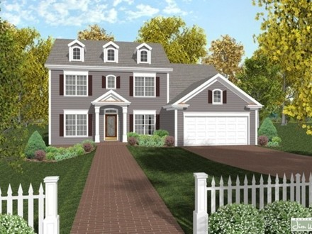Colonial House Plans Designs One Story Mediterranean House Plans