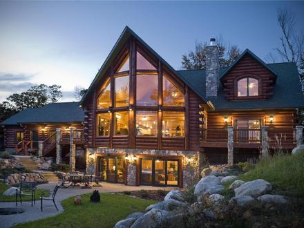 Log Cabin Home House Design Log Cabin Mansions