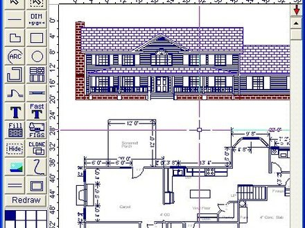 Cottage house designs cottage house interior design home for Easy house plan software