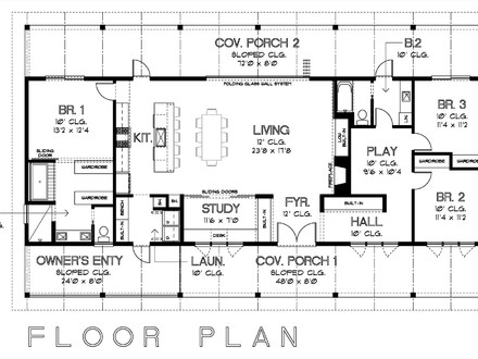 Single Floor House Plans House Floor Plans with Measurements
