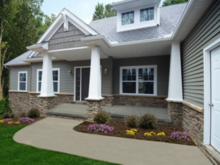 Ranch Style Homes with Porches Craftsman Style Ranch Homes with Porch