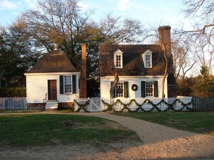 Christmas in Colonial Times Christmas in Colonial Williamsburg Home