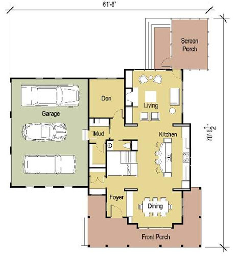 Modern Cottage Floor Plans Modern Cottage Design