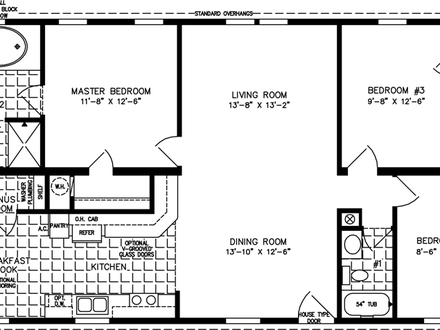 1200 Square Foot Open Floor Plans 1000 Square Feet