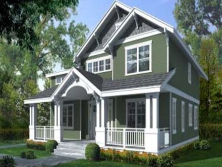 Craftsman Style Home Interiors Craftsman Home House Plan