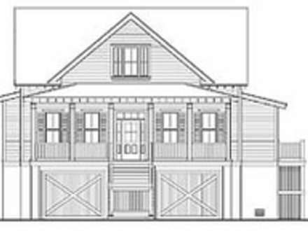 Retirement cabin floor plans 1 bedroom cabin floor plans for Carolina cottage house plans