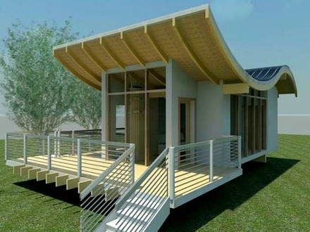 Small off grid solar system small solar house design for Small off grid home plans