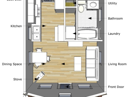 12 x 24 cabin floor plans 16x30 cabin floor plans 16 x 16 for Small cabin plans 16 x 24