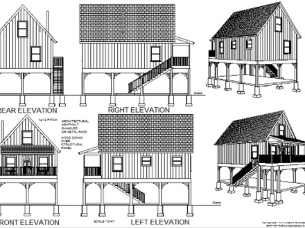 Do It Yourself Cabin Plans Free Small Cabin Plans