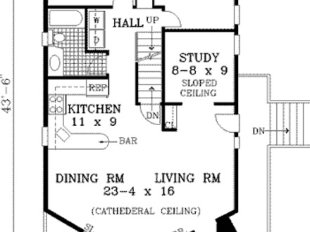 Small Cabin Floor Plans Inside Tiny Houses