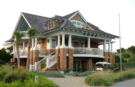 Beach House Plans with Porches Beach House Plans On Pilings