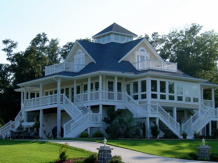 Cottage House Plans with Wrap around Porch Beach Cottage House Plans