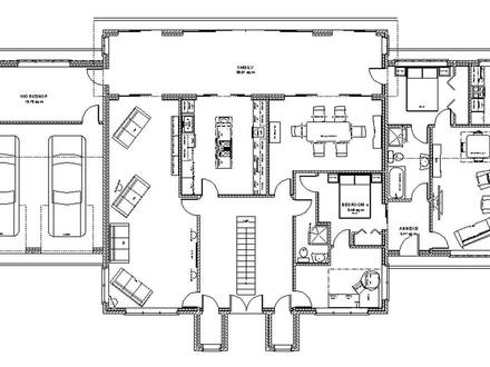 plan house further ranch house plans   car garage together with fea       f cb country home floor plans country homes open floor plan in addition aspen lodge modern rustic in addition cfdbcba     d    open concept kitchen plans efficient open floor house plans. on rustic modern open floor plans