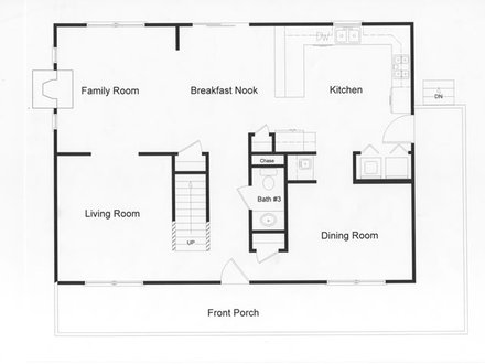 Log Modular Home Floor Plans modular open floor plan large country kitchen and open living space