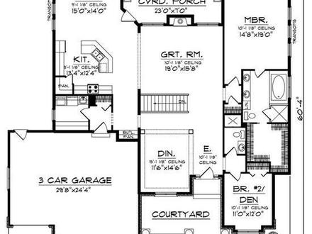 Small beach cottages small old world cottage house plans for Old world floor plans