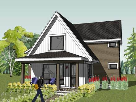 Small Modern Cottage House Plans Small Homes and Cottages Kits