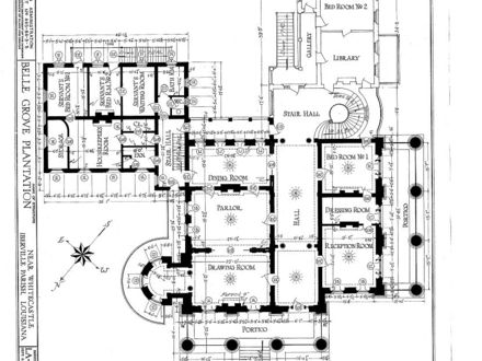 Belle Grove Plantation Floor Plan Belle Grove Plantation Floor Plan