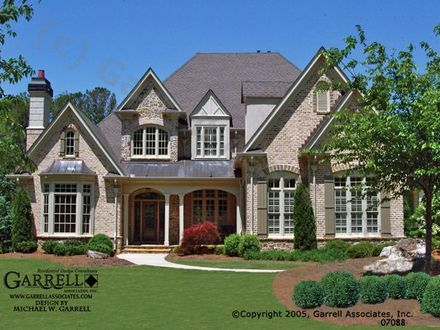 French Country House Plans with Front Porches Country Ranch House Plans