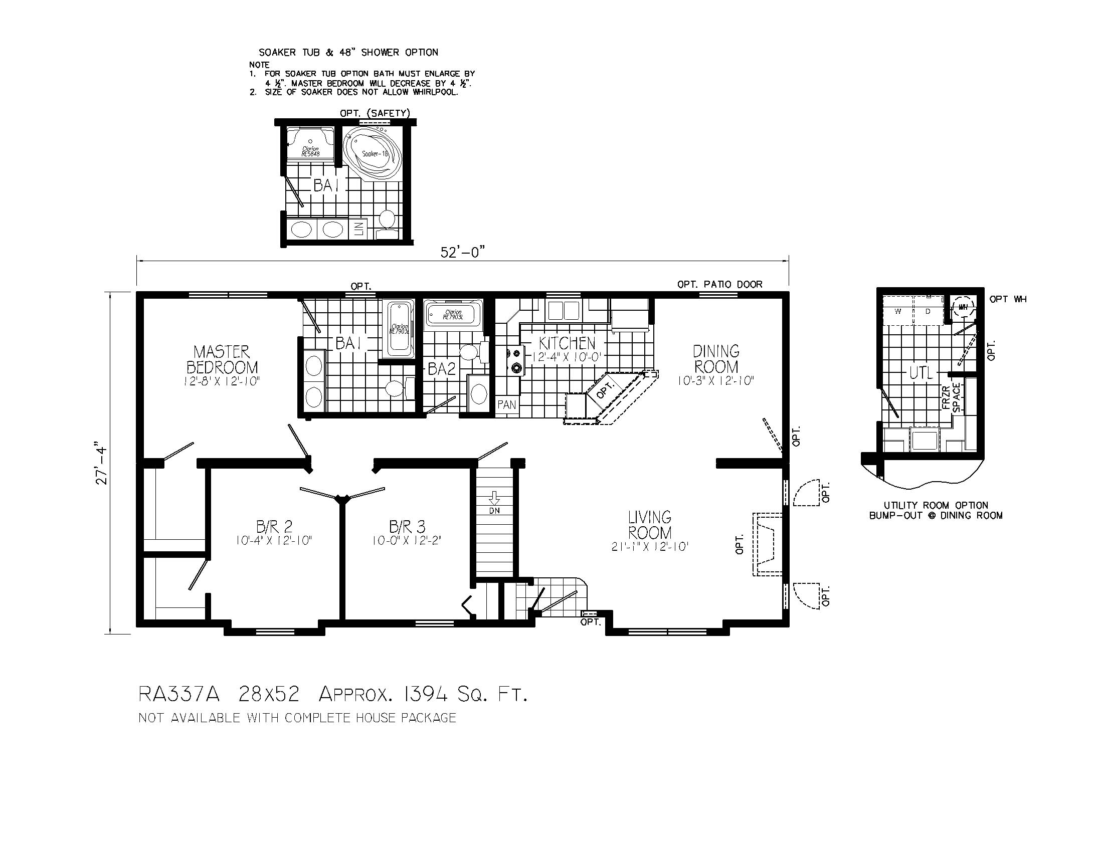 Simple ranch floor plans ranch home floor plans ranch for Ranch home plans with loft
