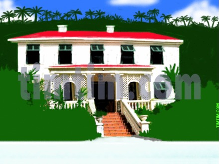 Big beach house drawing cartoon beach house beach house for Beach house drawing