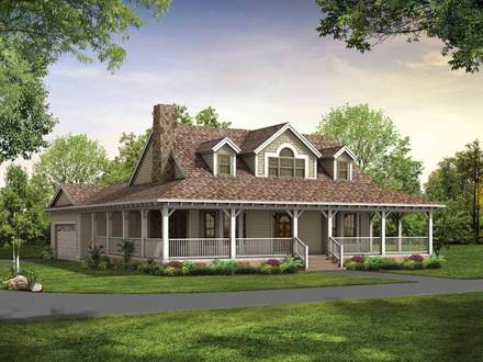 Country House Plans with Wrap around Porch Country House Plans with Stone