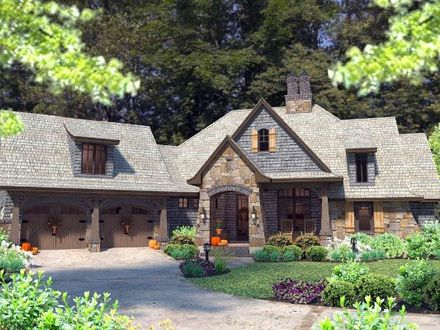 French Country Homes French Country Cottage House Plan Craftsman