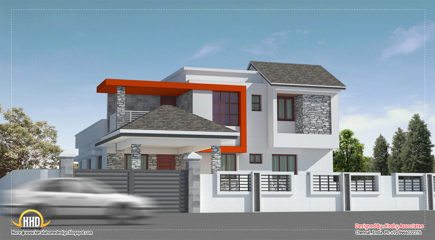 Modern House Home in Design 140 Sq Yards Design Home Modern House Plans
