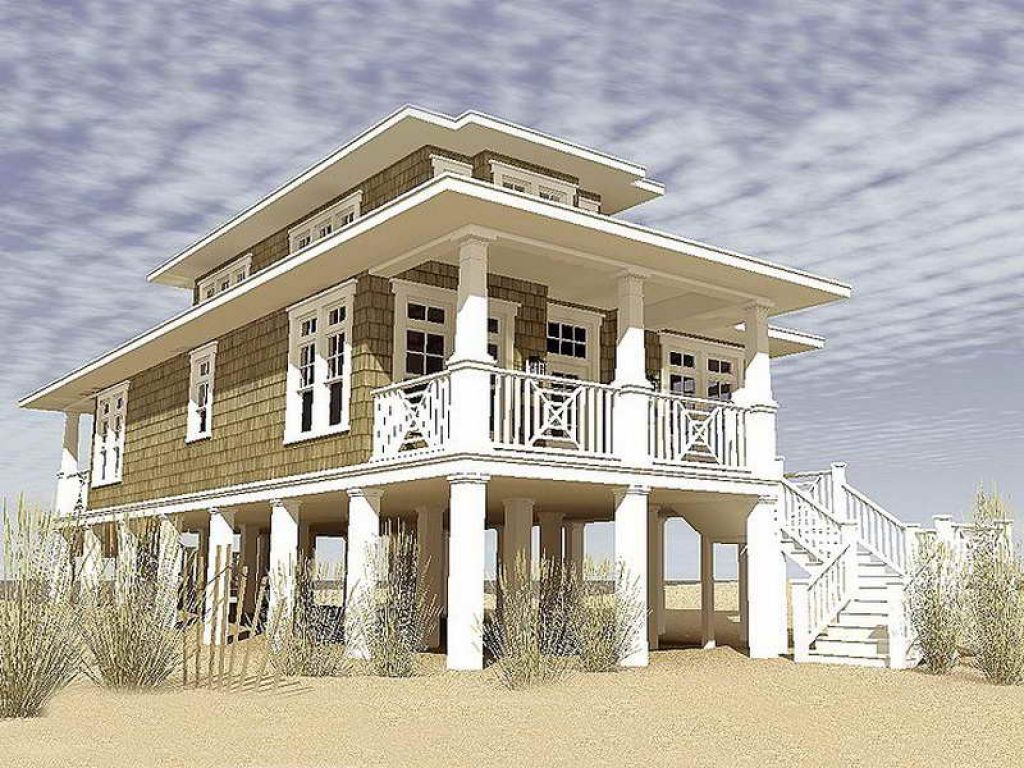 Narrow Lot Cottage House Plans gallery of narrow lot beach ...