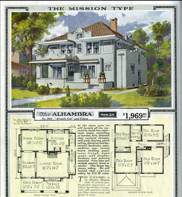 Old sears catalog 1923 old sears catalog craftsman house Traditional craftsman home plans