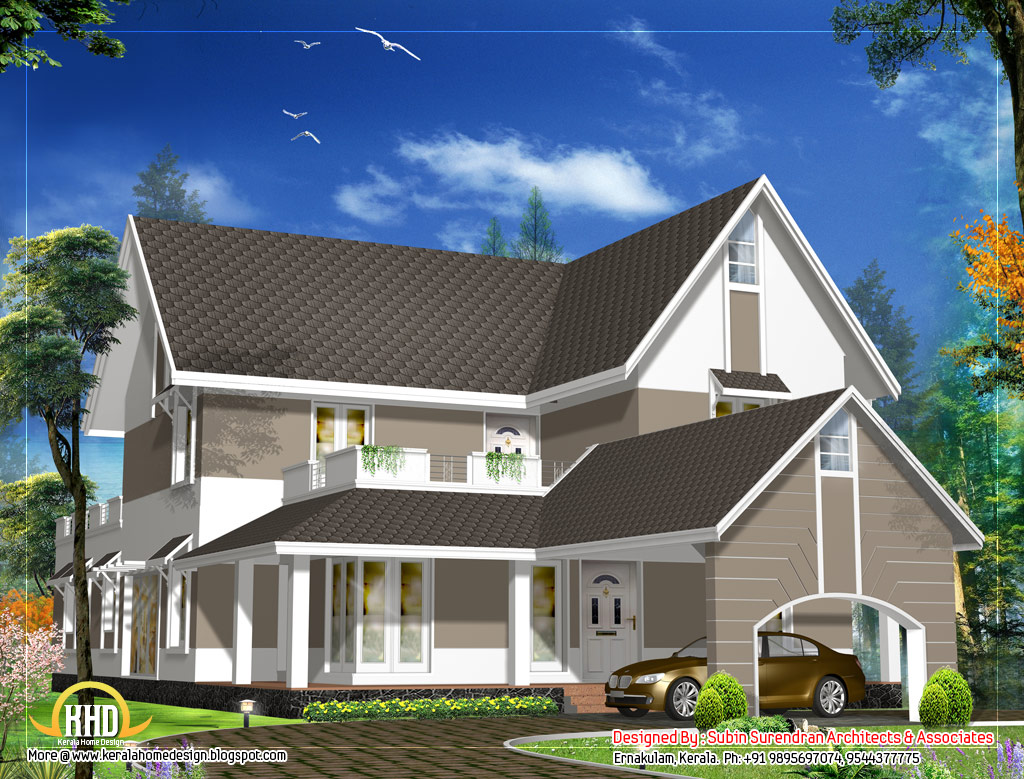 Sloping roof house design sloped roof dog house plans for Building on a slope cost