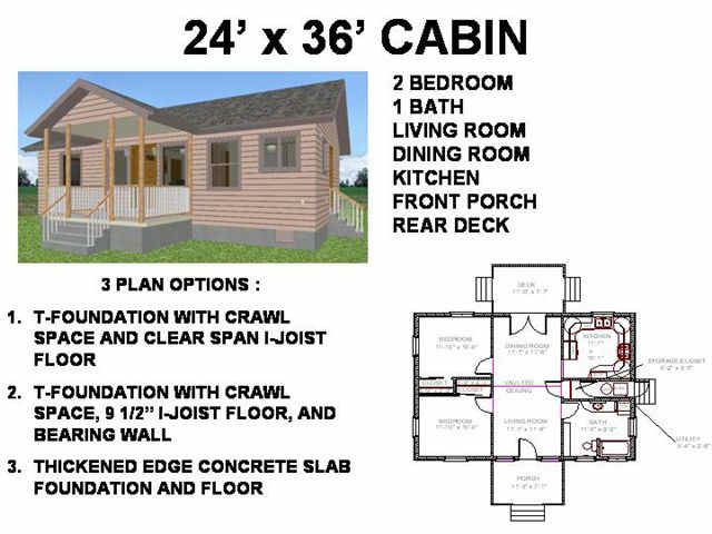 16 X 24 Cabin Plans 24X36 Cabin Floor Plans, small cabin