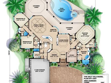 Mediterranean House Plan Dalt Vila House Plan Weber Design Group Modern Mediterranean House Plans