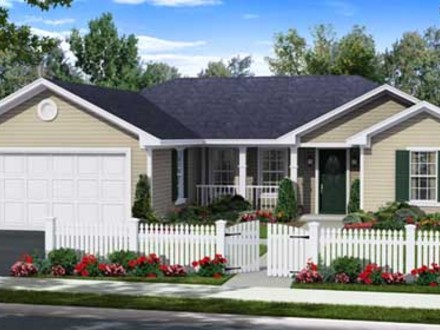 Modern One Story House Small One Story House Plans