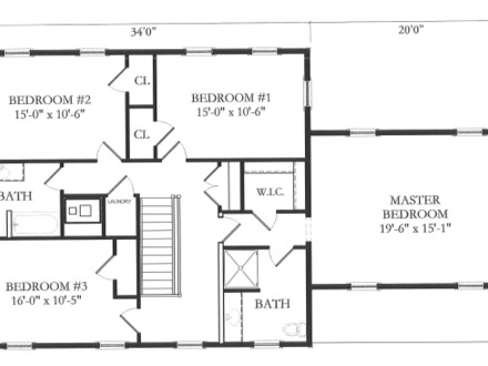 Simple Floor Plans with Measurements Basic Floor Plans