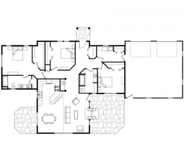 one story log home floor plans single story log home floor plans large single story log 27327